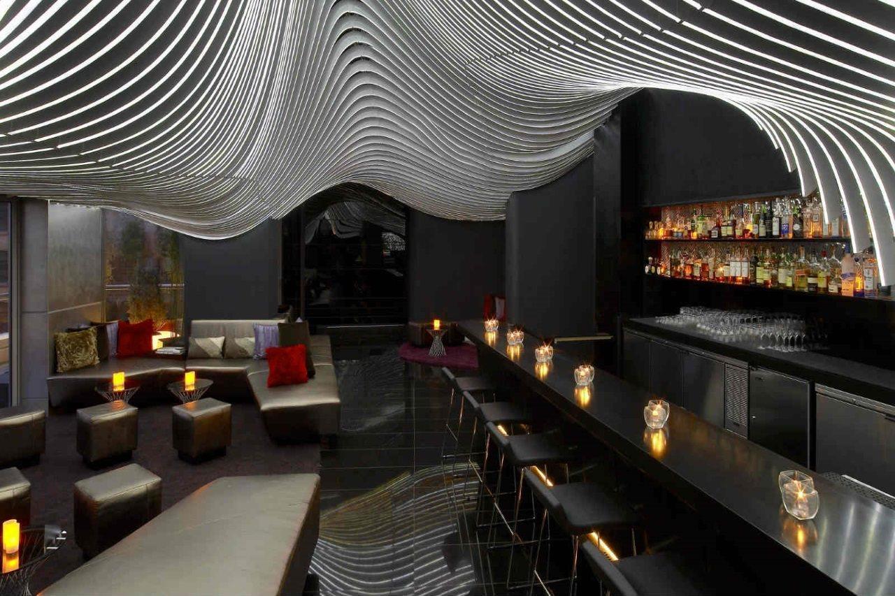 Retro Chic New York Style Street Hotel Dining Options W